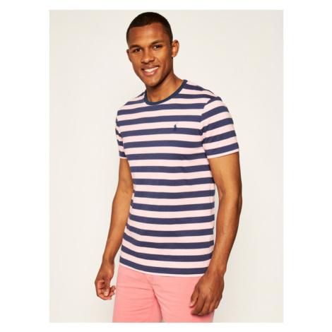 Polo Ralph Lauren T-Shirt Classics 710803479003 Różowy Slim Fit