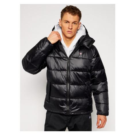 Champion Kurtka puchowa Reflective Hood 215058 Czarny Regular Fit