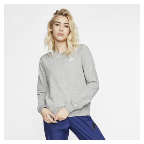 Damska bluza z dzianiny Nike Sportswear Essential - Szary