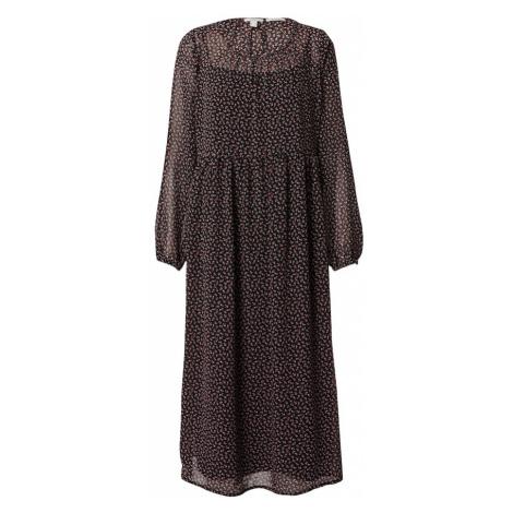 EDC BY ESPRIT Sukienka czarny / czerwony / biały