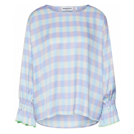 Essentiel Antwerp Koszulka jasnoniebieski / liliowy