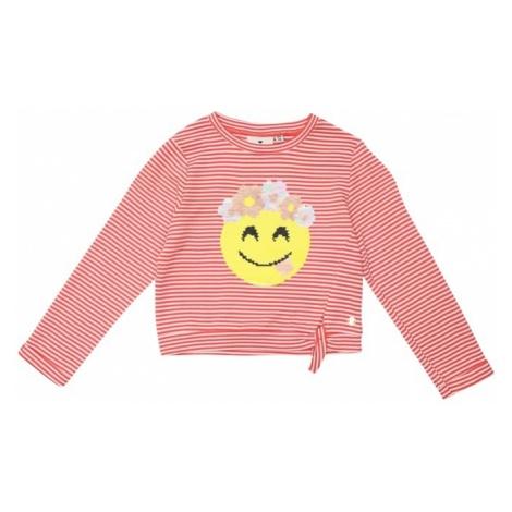 TOM TAILOR Bluzka sportowa żółty / różowy pudrowy / czerwony / naturalna biel