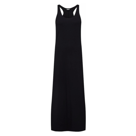 Urban Classics Letnia sukienka 'Ladies Long Racer Back Dress' czarny