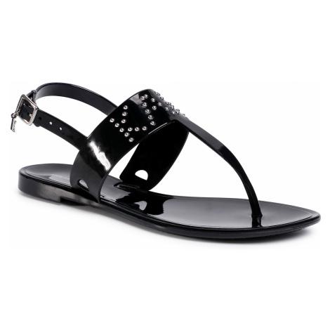 Sandały KARL LAGERFELD - KL80090 Black Rubber