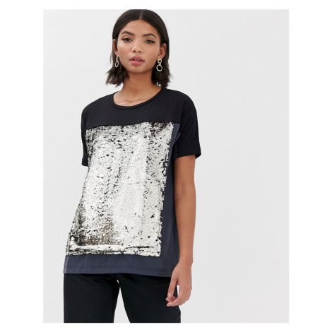 French Connection Emilia sequined t-shirt
