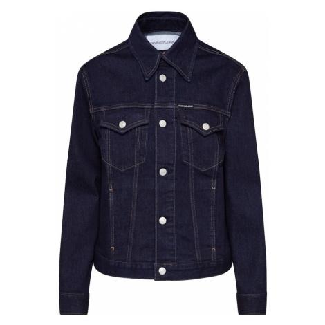 Calvin Klein Jeans Kurtka przejściowa 'FOUNDATION TRUCKER' niebieski denim