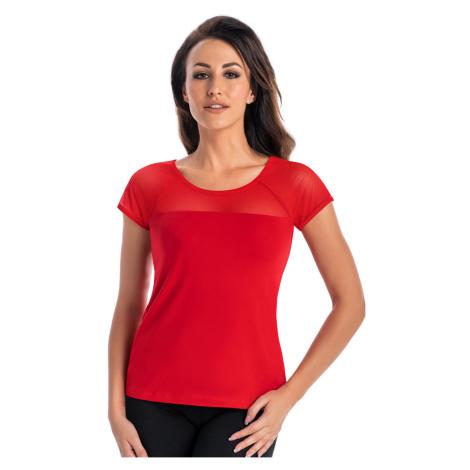 Czerwone damskie bluzki