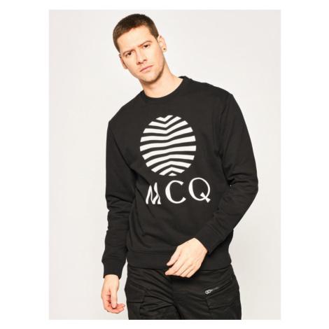 MCQ Alexander McQueen Bluza 545415 ROT08 1000 Czarny Regular Fit