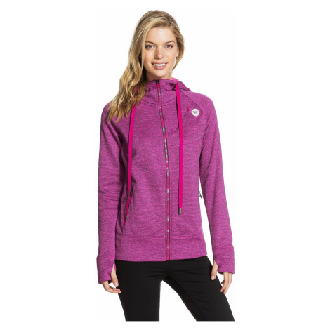 bluza Roxy Elevate Zip - MMWH/Bright Berry Heather