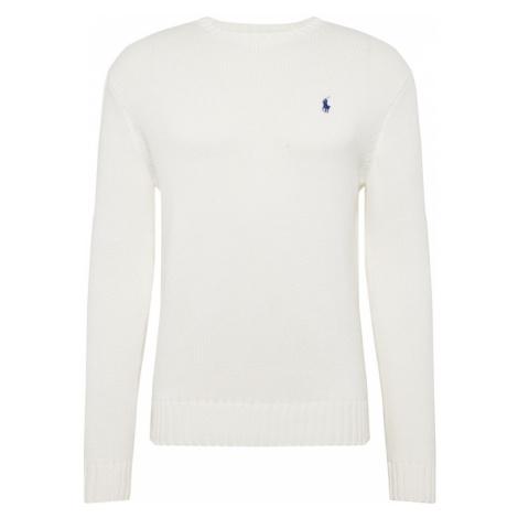 POLO RALPH LAUREN Sweter biały