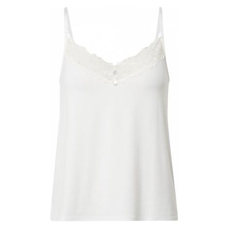 VILA Koszulka do spania 'VIRAVI SINGLET' biały