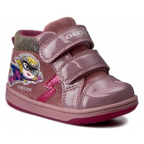 Trzewiki GEOX - B New Flick G. E. B741HE 022HH C8006 Dark Pink
