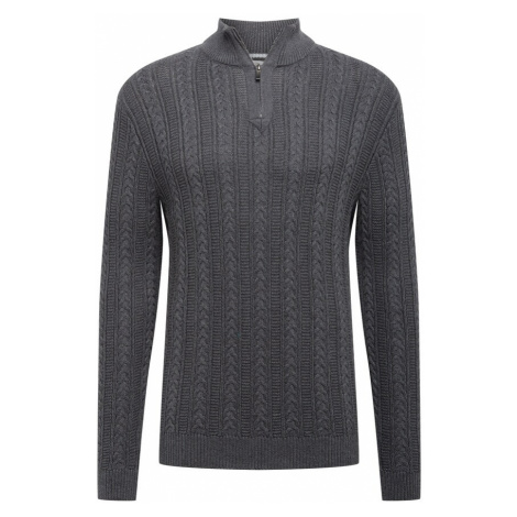 ESPRIT Sweter antracytowy