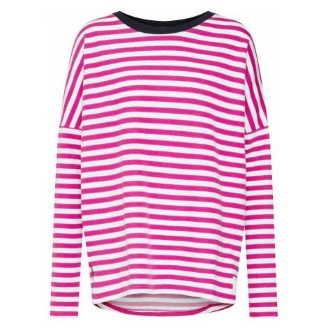 Marc O'Polo DENIM Koszulka 'Striped Sweatshirt LS / SWEATSHIRTS' różowy