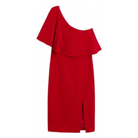 MANGO Sukienka koktajlowa 'palachin' czerwony