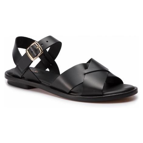 Sandały CLARKS - Willow Gild 261394324 Black Leather