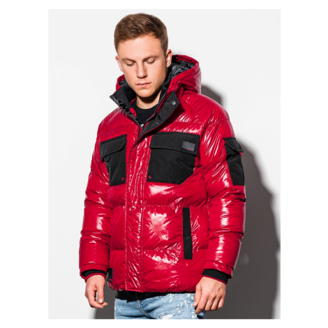 Ombre Clothing Men's mid-season quilted jacket C457