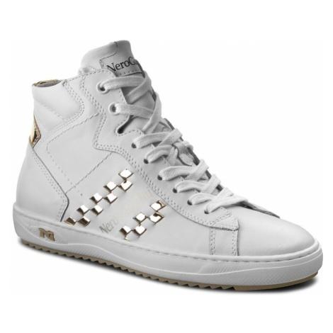 Sneakersy NERO GIARDINI - P717273D Bianco 707