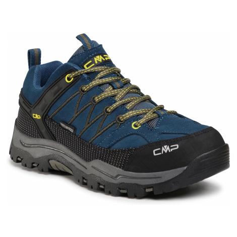 Trekkingi CMP - Kids Rigel Low Trekking Shoes Wp 3Q13244J Blue Ink/Yellow 10MF