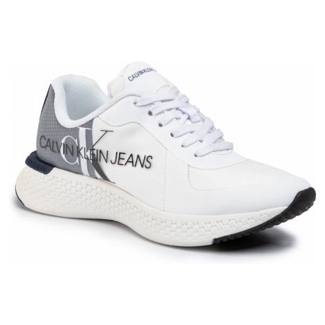 Sneakersy CALVIN KLEIN JEANS - Adamir B4S0649 White/Navy