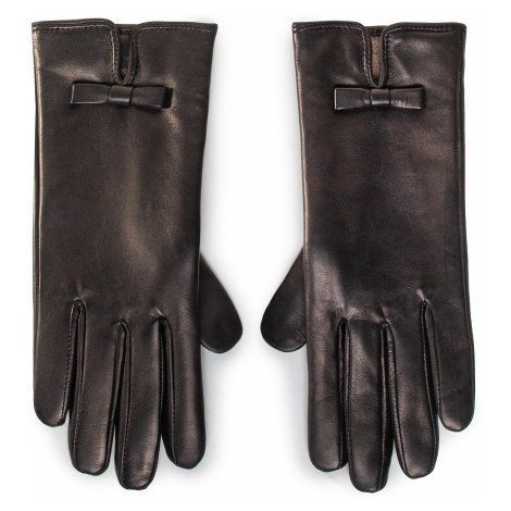 Rękawiczki Damskie GINO ROSSI - AR0194-000-OG00-9900-T Czarny