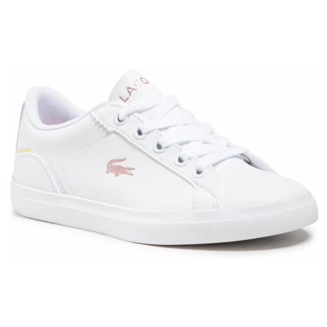 Sneakersy LACOSTE - Lerond 0921 1 Cuc Wht/Lt Pnk