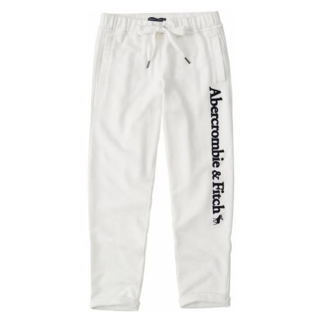 Abercrombie & Fitch Spodnie 'SB19-LONG LIFE ROLLED HEM' beżowy