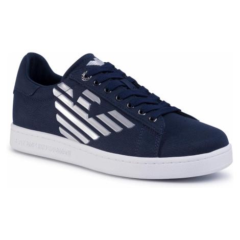 Sneakersy EA7 EMPORIO ARMANI - X8X001 XK124 M506 Navy/Silver