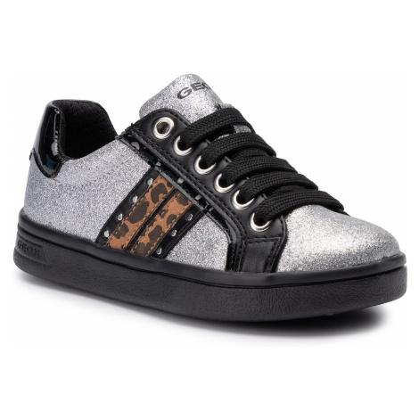 Sneakersy GEOX - J Djrock G. G J944MG 0BNHH C1007 S Silver
