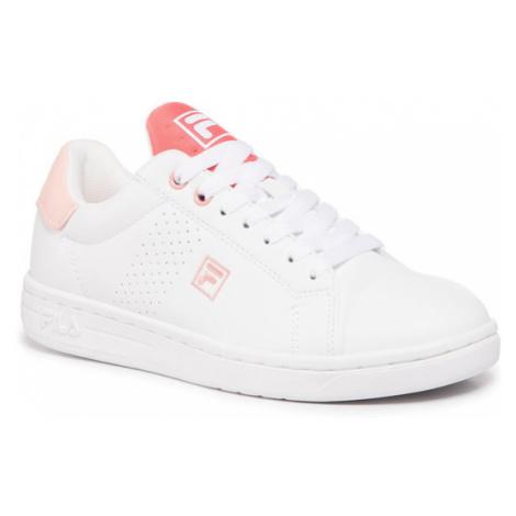 Fila Sneakersy Crosscourt 2 Nt Kids 1011115.85K Biały