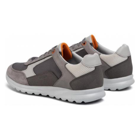Geox Sneakersy U Erast A U023EA 0AU11 C9004 Szary
