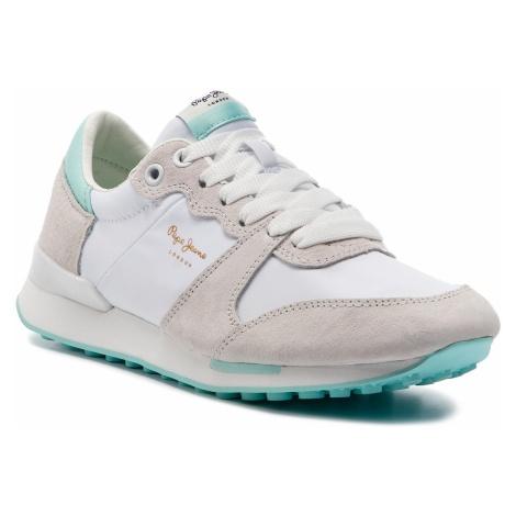 Sneakersy PEPE JEANS - Bimba Soft PLS30861 White 800