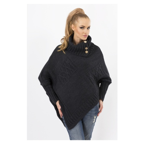 Makadamia Woman's Sweater MAKs09 Graphite