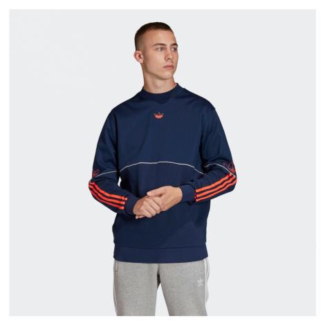 ADIDAS ORIGINALS Bluzka sportowa ciemnopomarańczowy / biały / goryczka