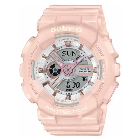 Zegarek BABY-G - BA-110RG-4AER Pink/Pink