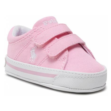 Polo Ralph Lauren Sneakersy Elmwood Ez RL100563 Różowy