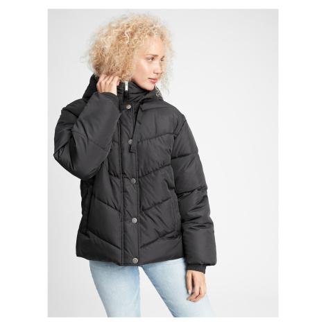 GAP czarna kurtka zimowa