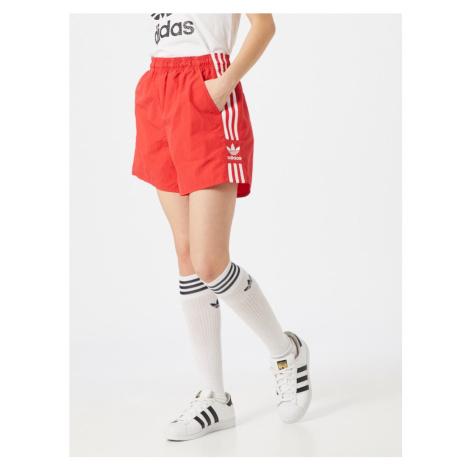 ADIDAS ORIGINALS Spodnie biały / jasnoczerwony