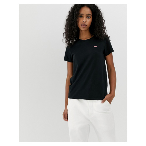 Levi's Perfect T Shirt with Chest Logo in Black Levi´s