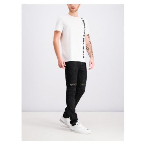 Just Cavalli T-Shirt S03GC0526 Biały Regular Fit