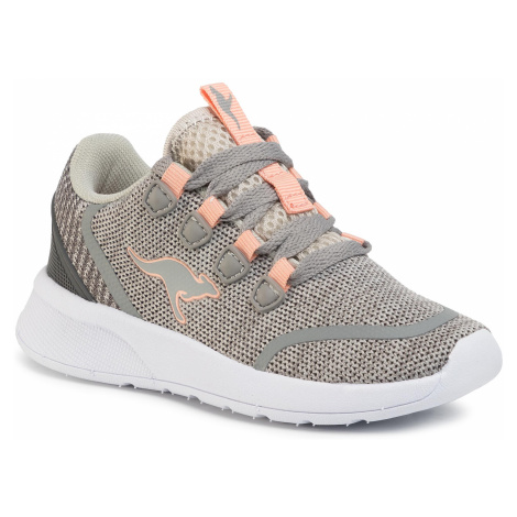 Buty KANGAROOS - Kf Lock 18318 000 2075 Vapor Grey/Dusty Rose 1