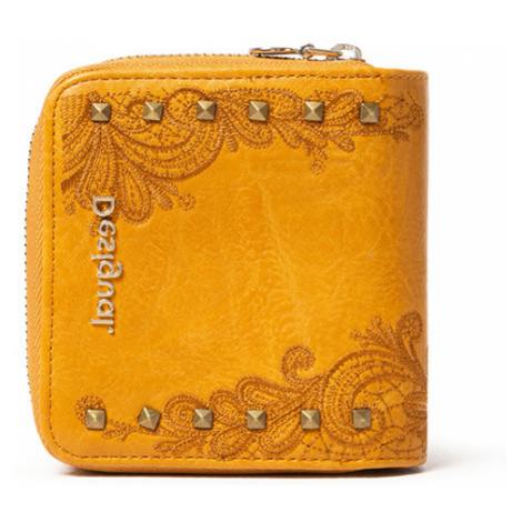 Desigual musztardowy portfel Mone Martini Lucia