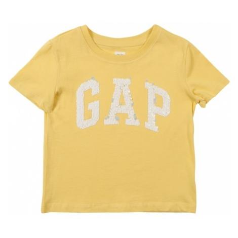 GAP Koszulka 'V-GAP FLP TEE' żółty