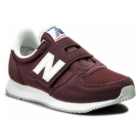 Sneakersy NEW BALANCE - KV220CDY Bordowy