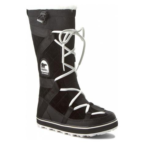 Śniegowce SOREL - Glacy Explorer NL1977 Black 012
