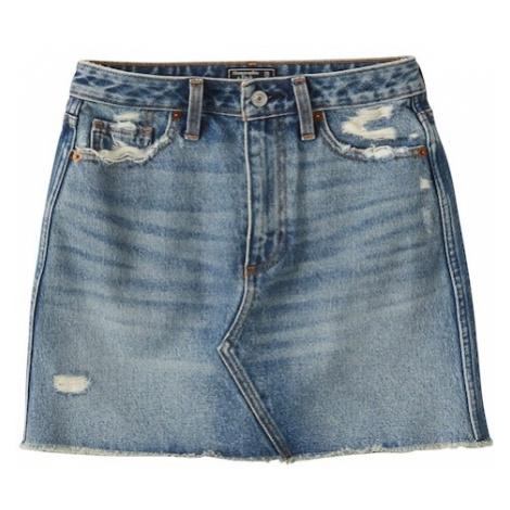 Abercrombie & Fitch Spódnica niebieski denim
