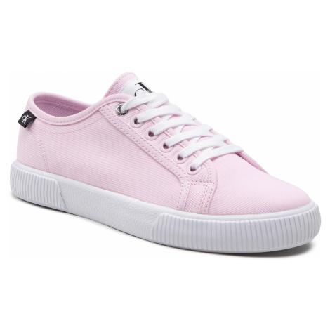 Tenisówki CALVIN KLEIN JEANS - Vulcanized Sneaker YW0YW00123 Pearly Pink