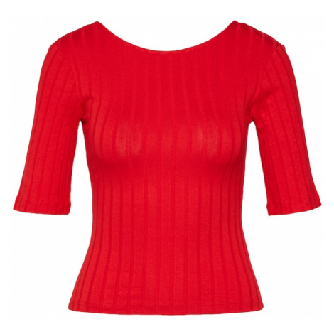 EDITED Koszulka 'Elisha' czerwony
