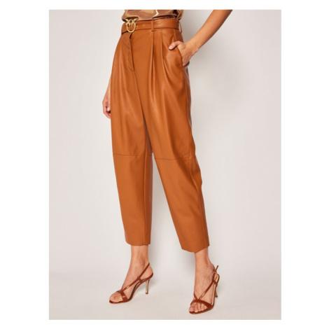 Spodnie skórzane Pinko