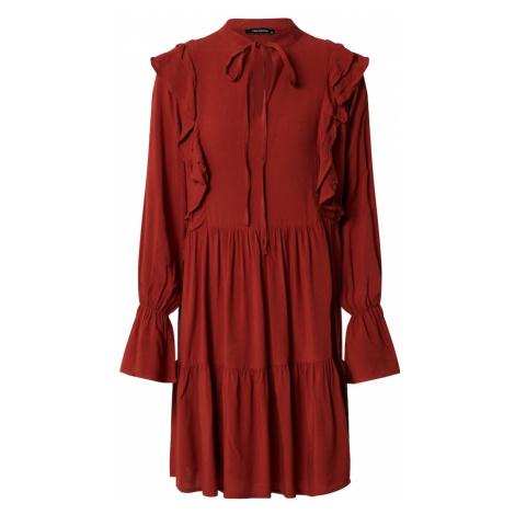 Trendyol Sukienka koszulowa pomarańczowo-czerwony